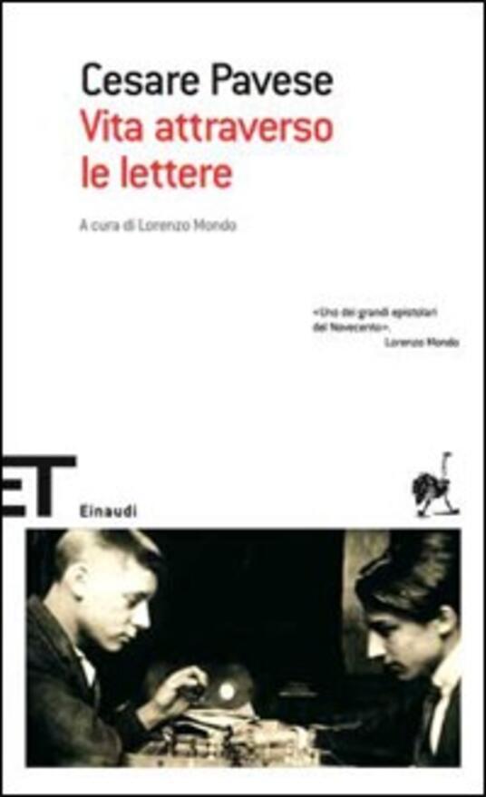 Vita attraverso le lettere - Cesare Pavese - copertina