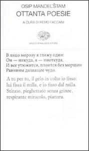 Libro Ottanta poesie. Testo russo a fronte Osip Mandel'stam