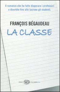 Libro La classe François Bégaudeau