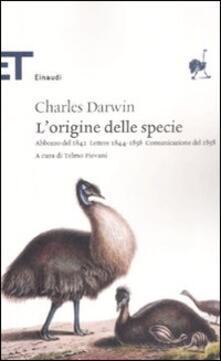 Winniearcher.com L' origine delle specie. Abbozzo del 1842. Lettere 1844-1858. Comunicazione del 1858 Image