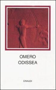 Foto Cover di Odissea. Testo greco a fronte, Libro di Omero, edito da Einaudi