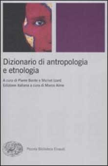 Winniearcher.com Dizionario di antropologia e etnologia Image