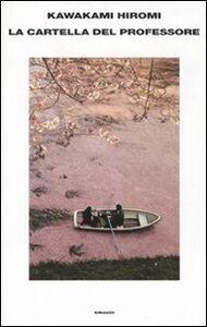 Libro La cartella del professore Hiromi Kawakami