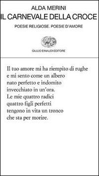 Image of Il carnevale della croce. Poesie religiose. Poesie d'amore
