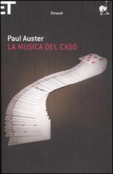 La musica del caso - Paul Auster - copertina