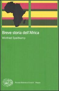 Libro Breve storia dell'Africa Winfried Speitkamp