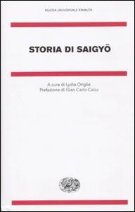 Libro Storia di Saigyo Saigyo