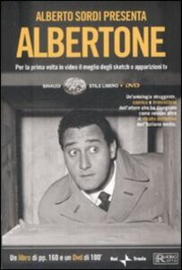 Libro Alberto Sordi presenta Albertone. Con DVD