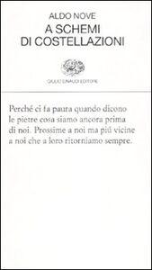 Libro A schemi di costellazioni Aldo Nove
