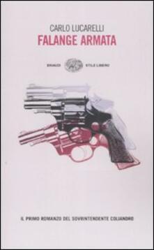 Falange Armata - Carlo Lucarelli - copertina
