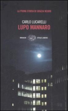 Lupo mannaro - Carlo Lucarelli - copertina
