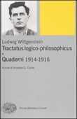 Libro Tractatus logico-philosophicus e Quaderni 1914-1916 Ludwig Wittgenstein