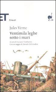 Foto Cover di Ventimila leghe sotto i mari, Libro di Jules Verne, edito da Einaudi