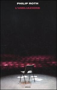 L' umiliazione - Philip Roth - copertina