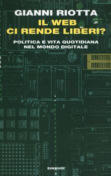 Festivalpatudocanario.es Il web ci rende liberi? Politica e vita quotidiana nel mondo digitale Image