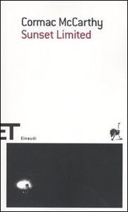 Sunset limited - Cormac McCarthy - copertina