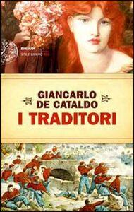 Libro I traditori Giancarlo De Cataldo