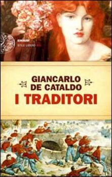 I traditori - Giancarlo De Cataldo - copertina