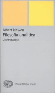Filosofia analitica. Un'introduzione - Alexander Newen - copertina