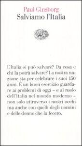 Libro Salviamo l'Italia Paul Ginsborg