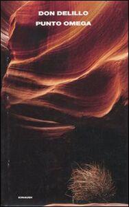Foto Cover di Punto Omega, Libro di Don DeLillo, edito da Einaudi