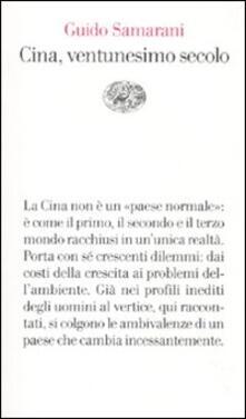 Cina, ventunesimo secolo - Guido Samarani - copertina