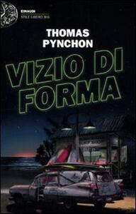 Vizio di forma - Thomas Pynchon - copertina