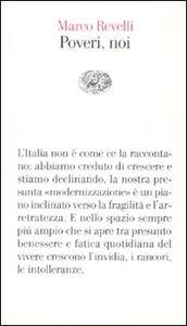 Libro Poveri, noi Marco Revelli