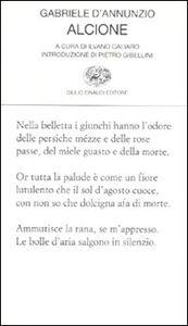Foto Cover di Alcione, Libro di Gabriele D'Annunzio, edito da Einaudi