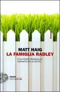 La famiglia Radley - Matt Haig - copertina