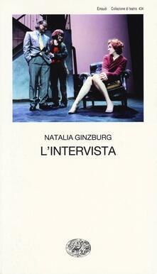 L' intervista - Natalia Ginzburg - copertina