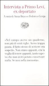 Intervista a Primo Levi, ex deportato - copertina