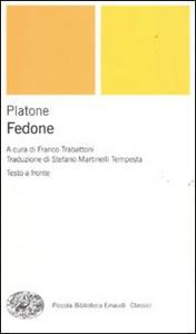 Libro Fedone. Testo greco a fronte Platone