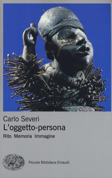 Antondemarirreguera.es L' oggetto-persona. Rito, memoria, immagine Image