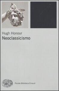 Libro Neoclassicismo Hugh Honour