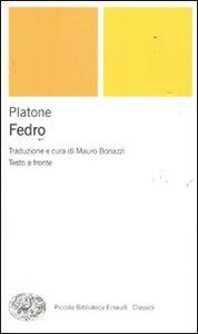 Foto Cover di Fedro. Testo greco a fronte, Libro di Platone, edito da Einaudi