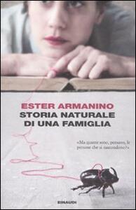 Storia naturale di una famiglia - Ester Armanino - copertina