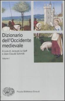 Promoartpalermo.it Dizionario dell'Occidente medievale. Temi e percorsi Image