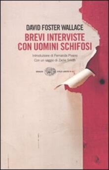 Brevi interviste con uomini schifosi - David Foster Wallace - copertina