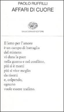 Affari di cuore - Paolo Ruffilli - copertina