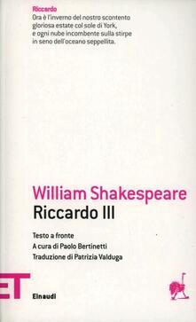 Listadelpopolo.it Riccardo III Image