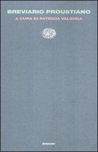 Foto Cover di Breviario proustiano, Libro di  edito da Einaudi