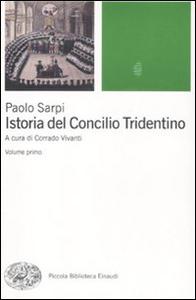 Libro Istoria del Concilio Tridentino Paolo Sarpi