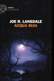 Acqua buia - Joe R. Lansdale - copertina