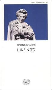 L' infinito - Tiziano Scarpa - copertina
