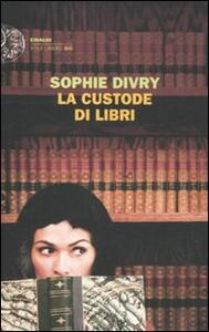 La custode di libri - Sophie Divry - copertina