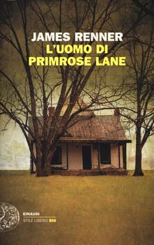 L' uomo di Primrose Lane - James Renner - copertina