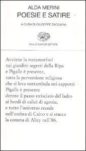 Libro Poesie e satire Alda Merini