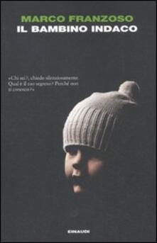 Il bambino indaco - Marco Franzoso - copertina