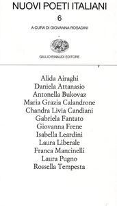 Nuovi poeti italiani. Vol. 6 - copertina